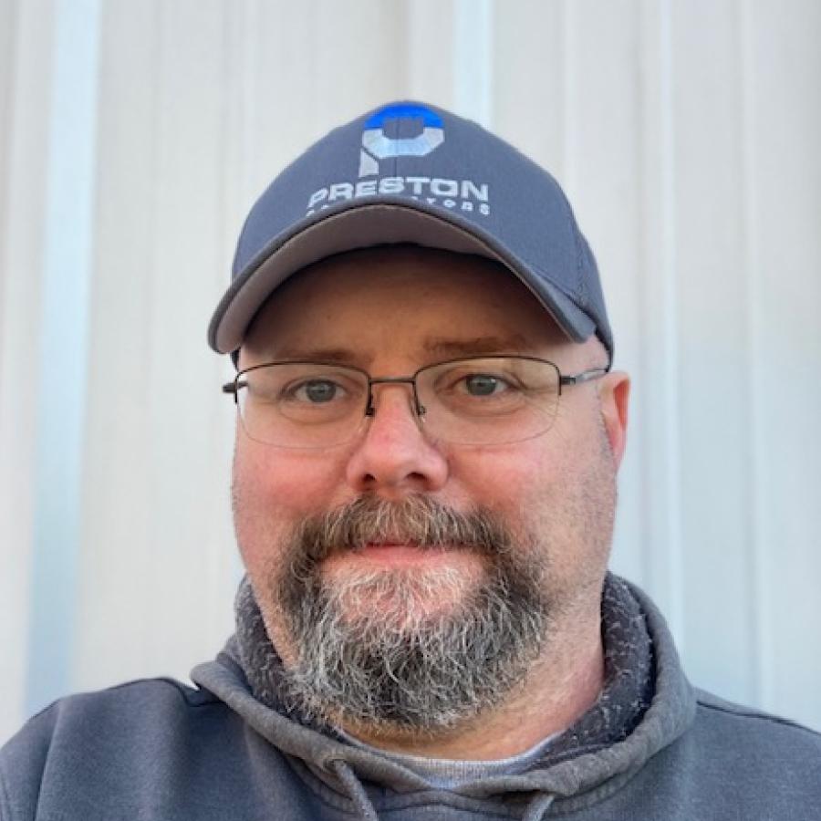 Mike Bucklew, Fleet Manager at Preston Contractors